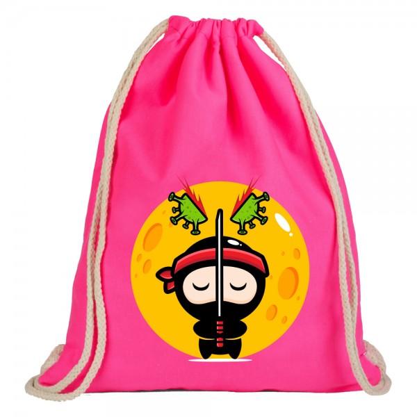 Ninja - Rucksackbeutel - Pink