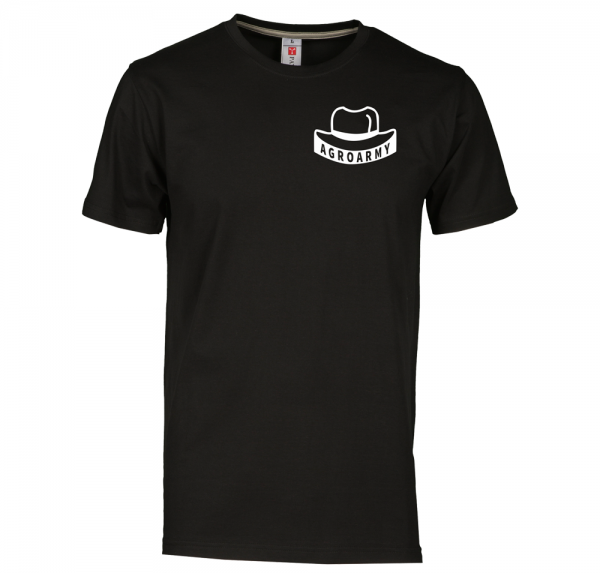 AgroArmy - T-Shirt - Schwarz