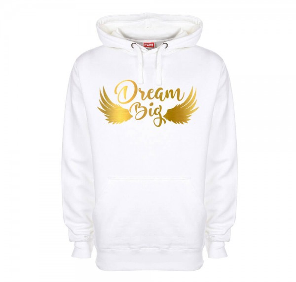 Dream Big - Hoodie - Weiss