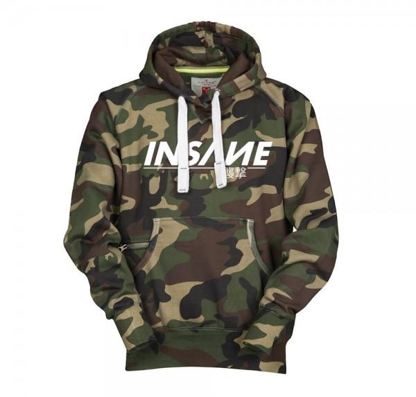 Insane - Camo-Hoodie
