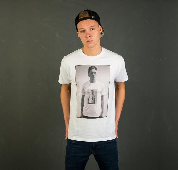 Selfie - T-Shirt - Weiss