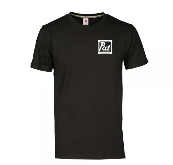 [pat] - T-Shirt - Schwarz