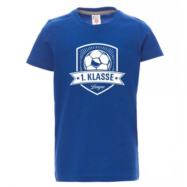 Fussball - Shirt - Blau