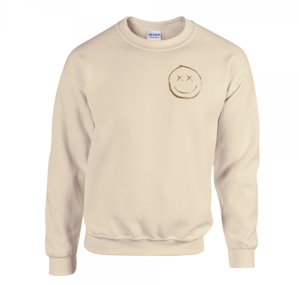 Smiley - Sweater - Sand