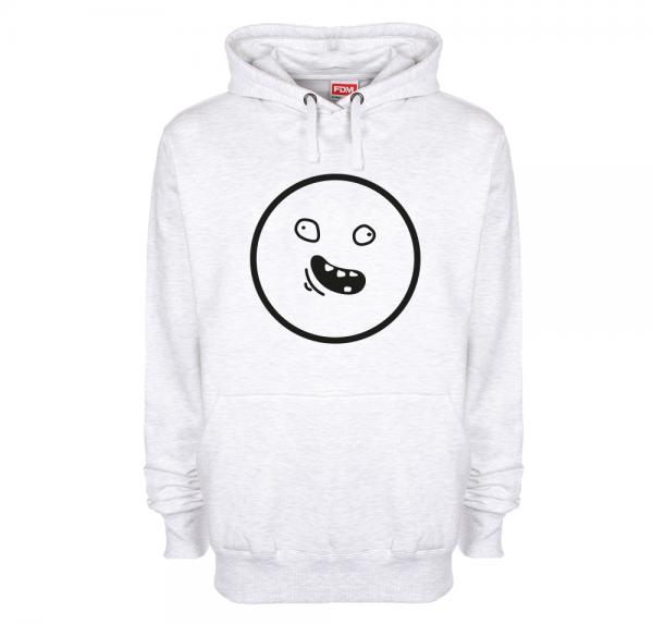 Smiley - Hoodie - Ash