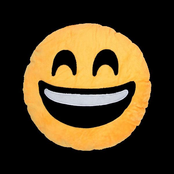Emoji Kissen - Lachen - Gelb