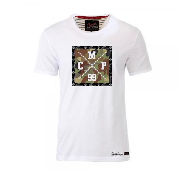 CMP 99 Camo - Shirt mit Rollsaum