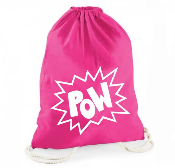 POW - Rucksackbeutel - Pink