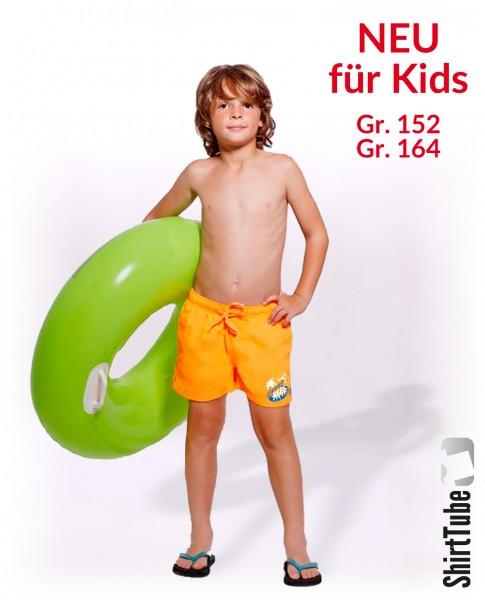 SummerFEELing - Badeshort KIDS - Orange