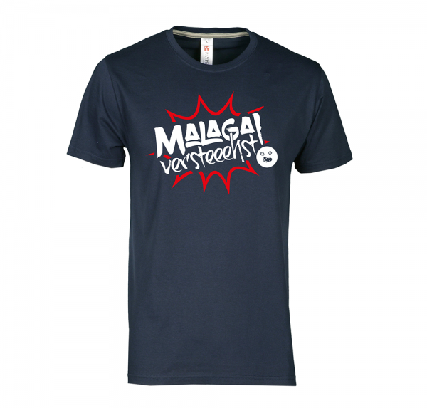 Malaga - T-Shirt - Navy-Blau