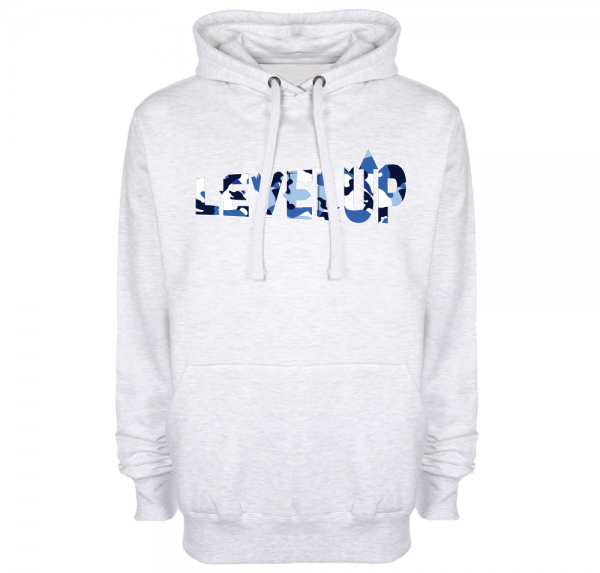 LevelUp - Hoodie - Ash