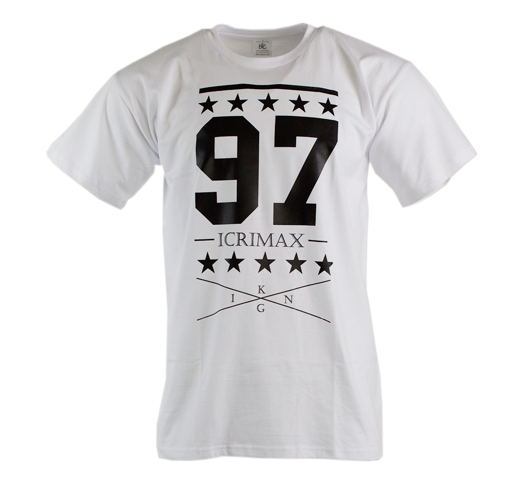 College 97 - T-Shirt - Weiss | Shirt-Tube.de - Der ...