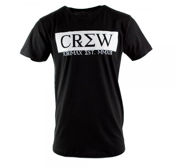 CREW - Longshirt - Schwarz