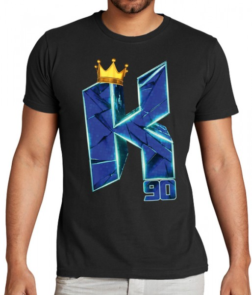 K90 Crown - T-Shirt - Schwarz