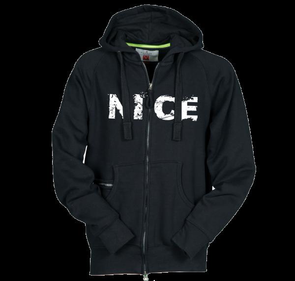 Nice - Sweatjacke - Schwarz