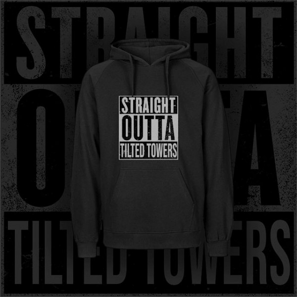 Straight Outta Tilted Towers - Hoodie - Schwarz