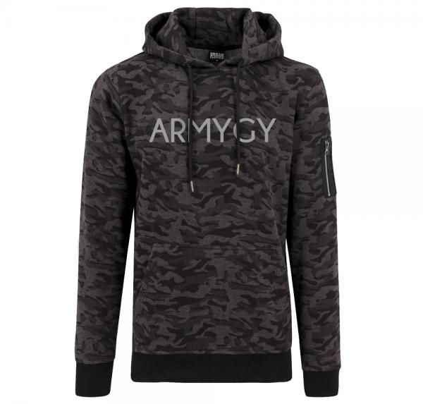 ARMYGY - Hoodie Camouflage - Dark Camo