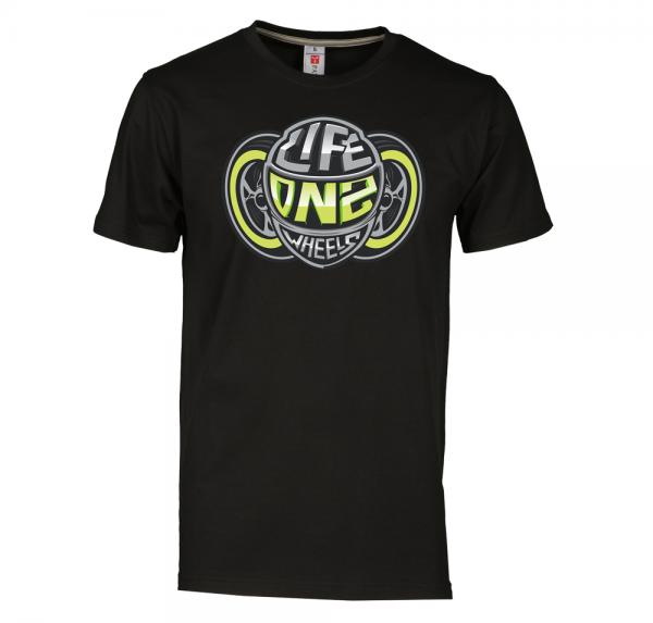 WIR LEBEN - T-Shirt - Schwarz