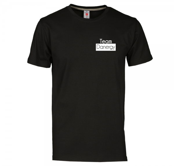 Team Danergy - T-Shirt - Schwarz