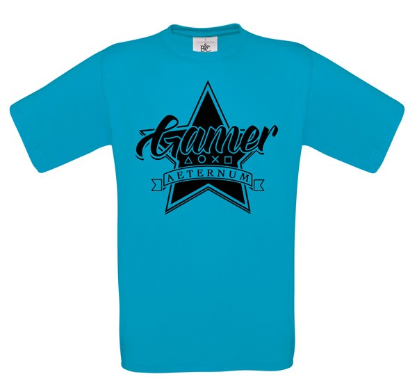 Gamer - T-Shirt - Atoll - Herren