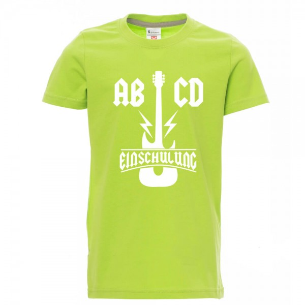 AB/CD - Shirt - Lime Green