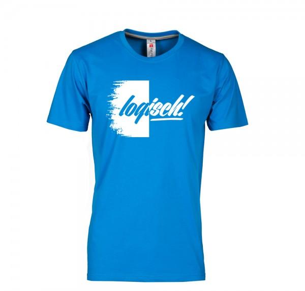 Logisch - T-Shirt - Blau