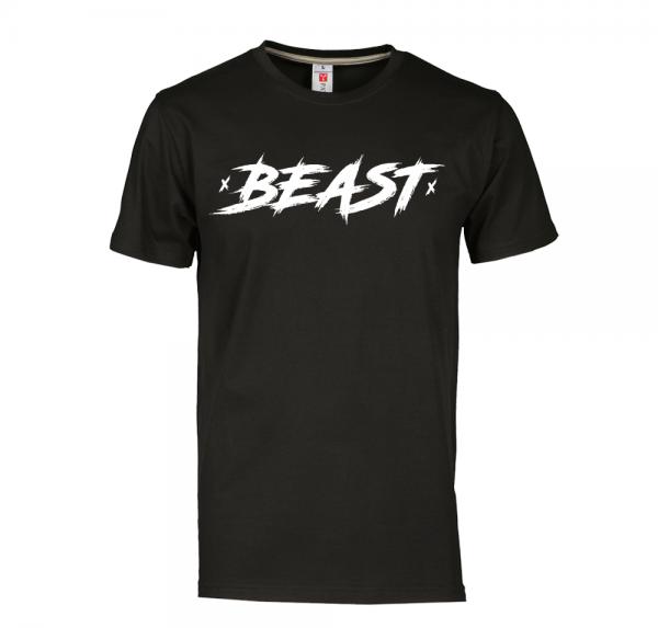 Beast - T-Shirt - Schwarz