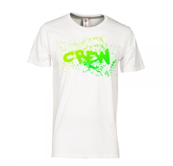 Crew - T-Shirt - Weiss