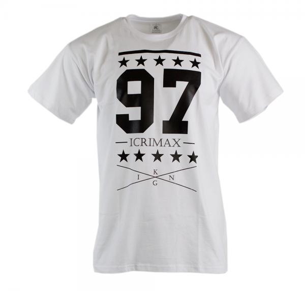 College 97 - T-Shirt - Weiss