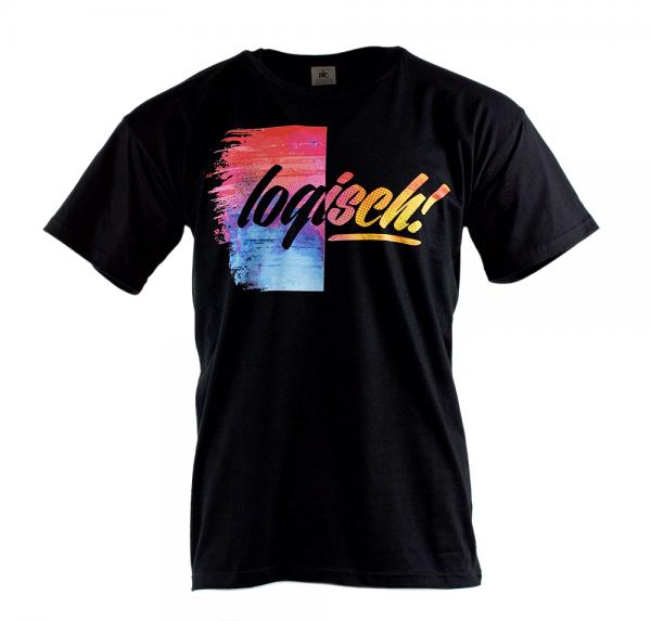 Logisch - T-Shirt - Schwarz