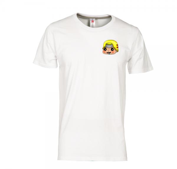 Feuerwehrmann - T-Shirt - Weiss