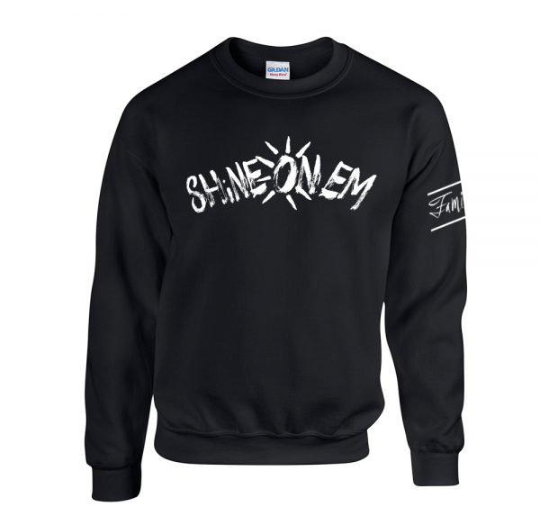 Shine On Em - Sweater - Schwarz