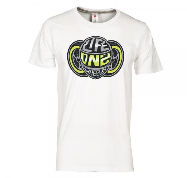 WIR LEBEN - T-Shirt - Weiss