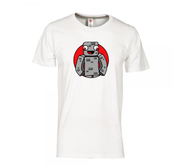 Alphastein - T-Shirt - Weiss