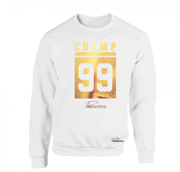 Champ 99 Gold - Sweater - Weiss
