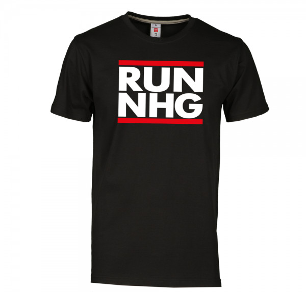 RUN NHG - T-Shirt - Schwarz