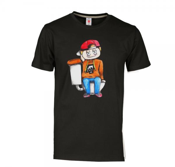Pädagoge - T-Shirt - Schwarz