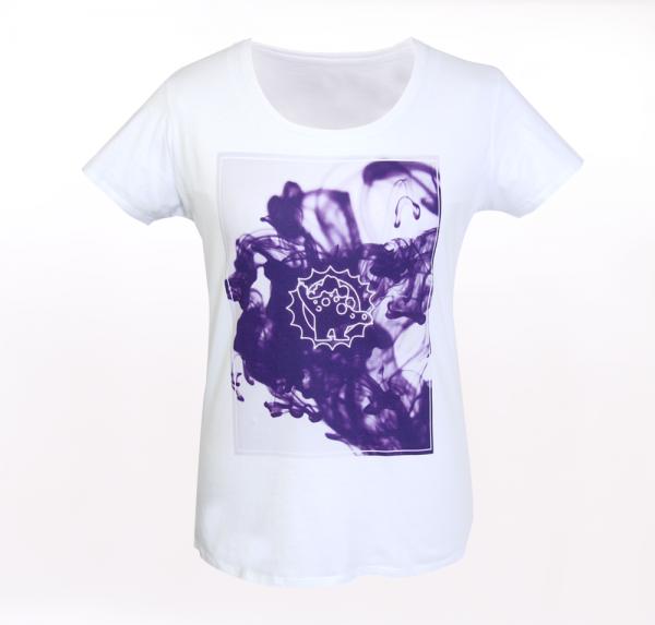 Tint - T-Shirt - Weiss - Damen
