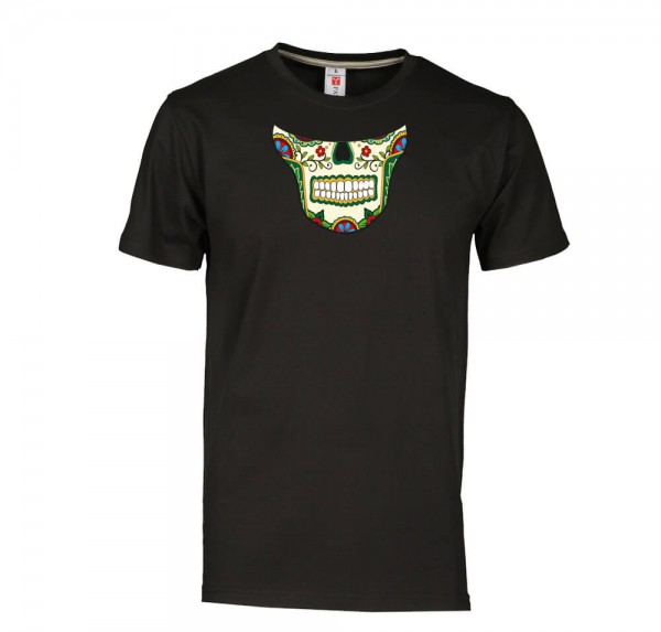 Inzucht Maske - T-Shirt - Schwarz