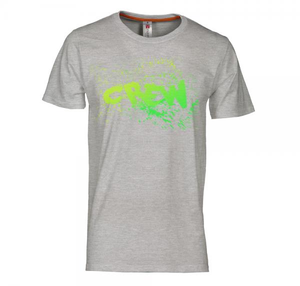 Crew - T-Shirt - Sports Grey