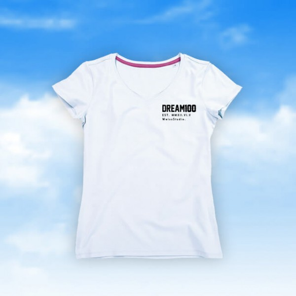 Dream100 - Damen-Shirt - V-Neck