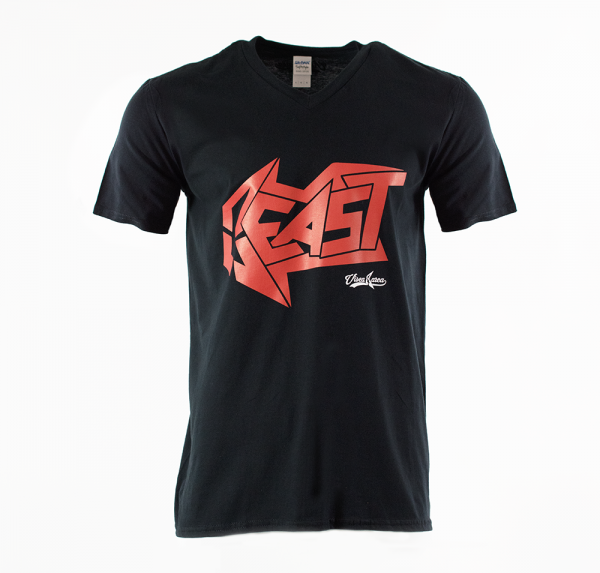 Red Beast - T-Shirt - Schwarz