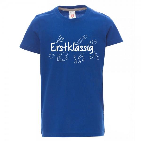 Erstklassig - Shirt - Blau