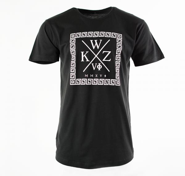 WKZ - Longshirt - Schwarz