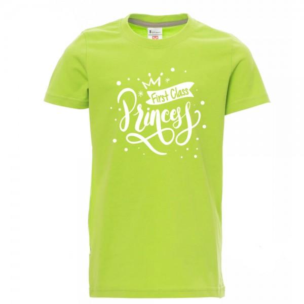 First Class Princess - Shirt - Lime Green