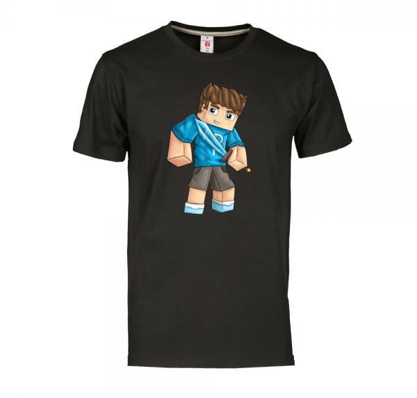 Phil - T-Shirt - Schwarz