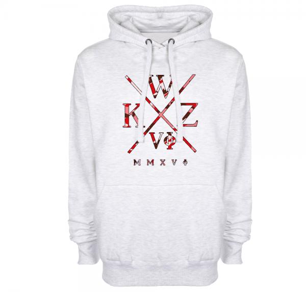 WKZ Camo Rot - Hoodie - Ash
