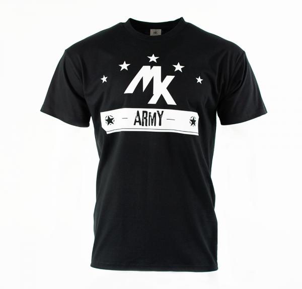 MX Army - T-Shirt - Schwarz