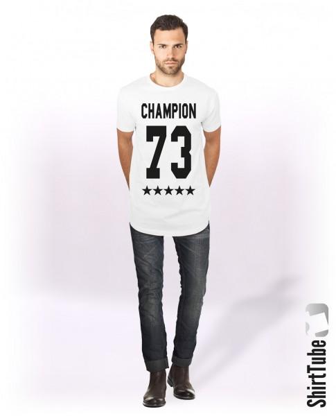 Champion 73 - Longshirt - Weiß