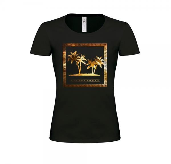 Hafensänger - Damen-Shirt - Schwarz